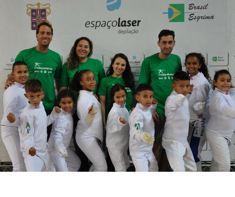 FIE relembra a doação feita ao Projeto Mosqueteiros de Paraisópolis.