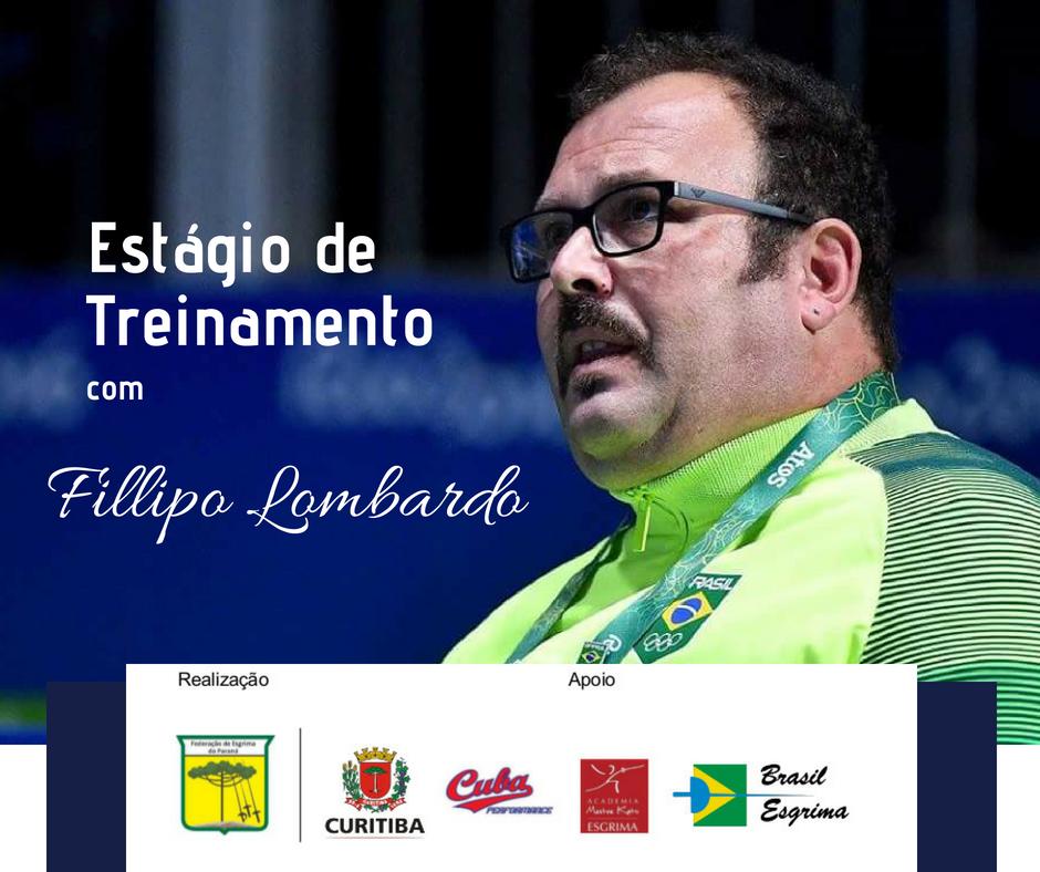 Federação de Esgrima do Paraná promove estágio com Mestre Fillipo Lombardo